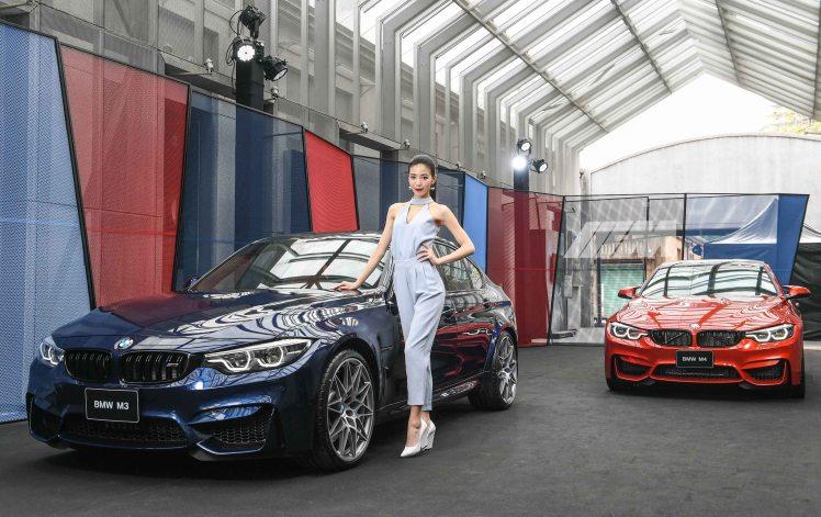 [新聞照片一] 全新BMW M3(左)、M4(右)今日正式在臺上市