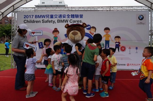 2017 BMW 台北 依德 兒童 交通安全 體驗營 中和 永和 四號公園 活動 合照