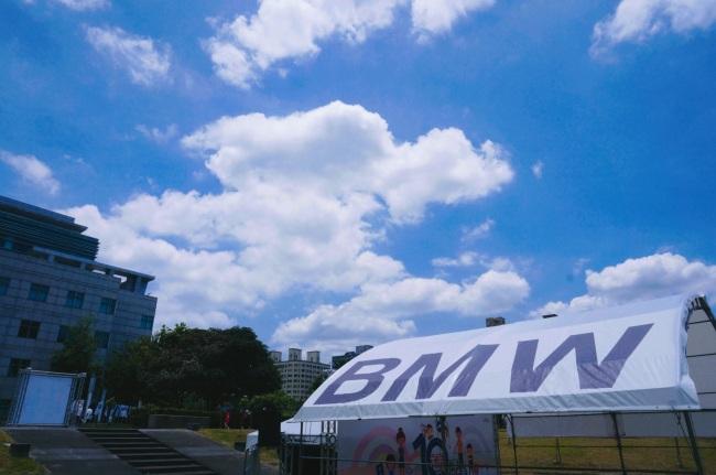 bmw 台北 依德 中和 永和 四號公園 2017 兒童安全 體驗營 藍天 白雲 好天氣