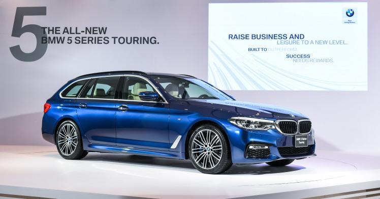 [新聞照片一] 全新上市BMW大五係列Touring 530i M Sport