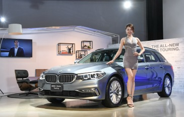 New BMW 520d Touring Luxury with Showgirl