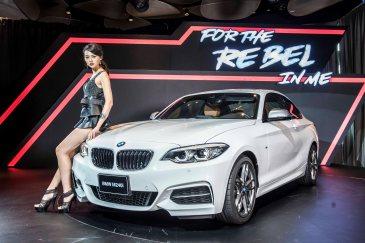 台北依德 BMW M240i LED頭燈 加大進氣壩